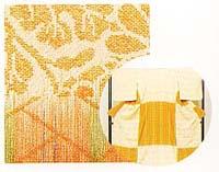 経絣紋織り(たてかすりもんおり)